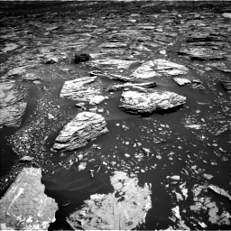 Nasa's Mars rover Curiosity acquired this image using its Left Navigation Camera on Sol 1720, at drive 2960, site number 63