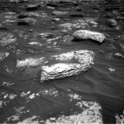 Nasa's Mars rover Curiosity acquired this image using its Right Navigation Camera on Sol 1720, at drive 2672, site number 63