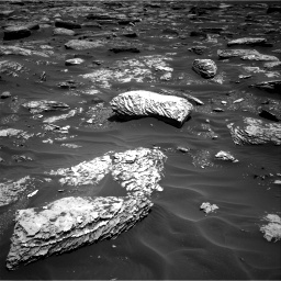 Nasa's Mars rover Curiosity acquired this image using its Right Navigation Camera on Sol 1720, at drive 2684, site number 63