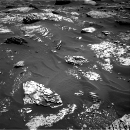 Nasa's Mars rover Curiosity acquired this image using its Right Navigation Camera on Sol 1720, at drive 2714, site number 63