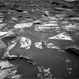 Nasa's Mars rover Curiosity acquired this image using its Right Navigation Camera on Sol 1720, at drive 2732, site number 63