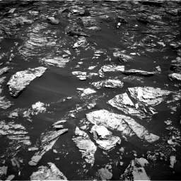 Nasa's Mars rover Curiosity acquired this image using its Right Navigation Camera on Sol 1720, at drive 2804, site number 63