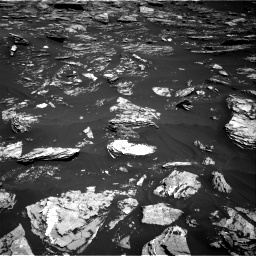 Nasa's Mars rover Curiosity acquired this image using its Right Navigation Camera on Sol 1720, at drive 2828, site number 63