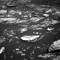 Nasa's Mars rover Curiosity acquired this image using its Right Navigation Camera on Sol 1720, at drive 2906, site number 63