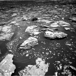 Nasa's Mars rover Curiosity acquired this image using its Right Navigation Camera on Sol 1720, at drive 2966, site number 63