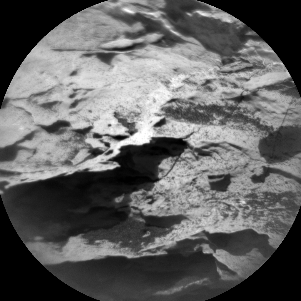 Nasa's Mars rover Curiosity acquired this image using its Chemistry & Camera (ChemCam) on Sol 1720, at drive 2672, site number 63