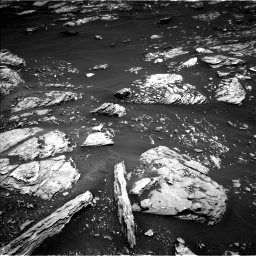 Nasa's Mars rover Curiosity acquired this image using its Left Navigation Camera on Sol 1721, at drive 3050, site number 63