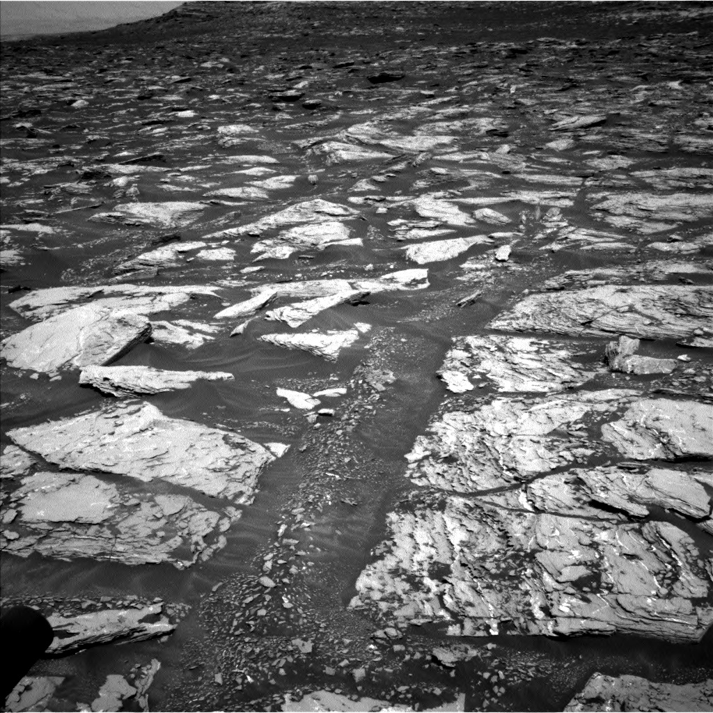 Nasa's Mars rover Curiosity acquired this image using its Left Navigation Camera on Sol 1721, at drive 3056, site number 63