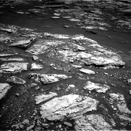 Nasa's Mars rover Curiosity acquired this image using its Left Navigation Camera on Sol 1721, at drive 3080, site number 63