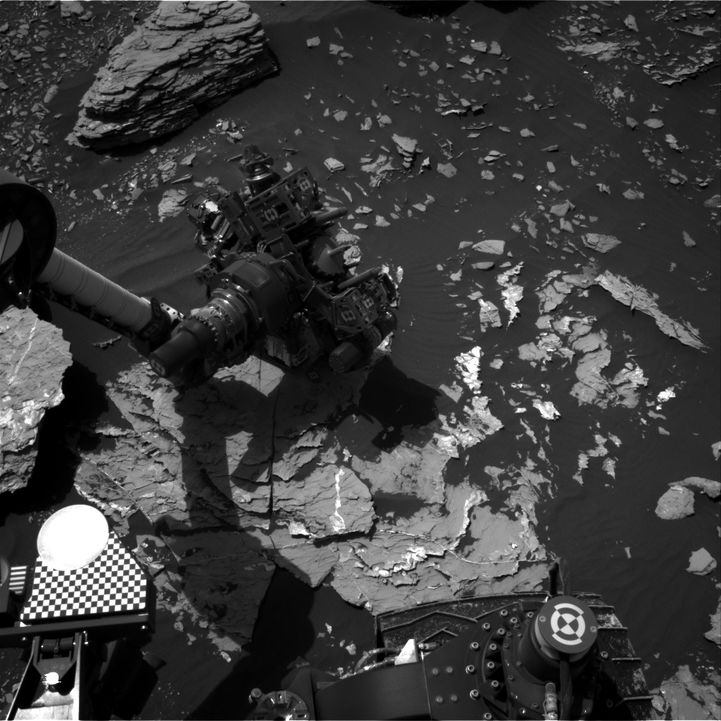 Nasa's Mars rover Curiosity acquired this image using its Right Navigation Camera on Sol 1721, at drive 2978, site number 63