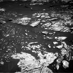 Nasa's Mars rover Curiosity acquired this image using its Right Navigation Camera on Sol 1721, at drive 3020, site number 63