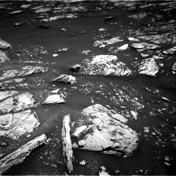 Nasa's Mars rover Curiosity acquired this image using its Right Navigation Camera on Sol 1721, at drive 3056, site number 63