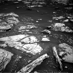 Nasa's Mars rover Curiosity acquired this image using its Right Navigation Camera on Sol 1721, at drive 3062, site number 63