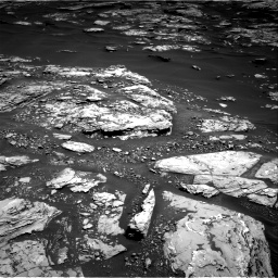 Nasa's Mars rover Curiosity acquired this image using its Right Navigation Camera on Sol 1721, at drive 3074, site number 63