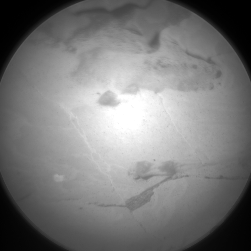 Nasa's Mars rover Curiosity acquired this image using its Chemistry & Camera (ChemCam) on Sol 1724, at drive 3092, site number 63