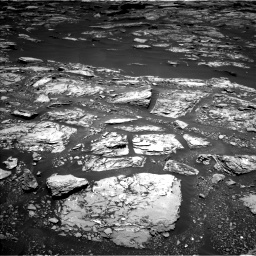 Nasa's Mars rover Curiosity acquired this image using its Left Navigation Camera on Sol 1724, at drive 3092, site number 63