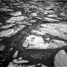 Nasa's Mars rover Curiosity acquired this image using its Left Navigation Camera on Sol 1724, at drive 3146, site number 63
