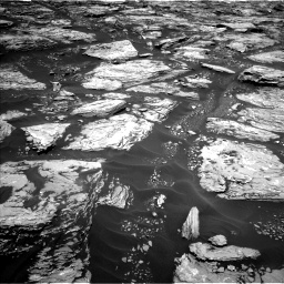 Nasa's Mars rover Curiosity acquired this image using its Left Navigation Camera on Sol 1724, at drive 3152, site number 63