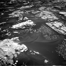 Nasa's Mars rover Curiosity acquired this image using its Left Navigation Camera on Sol 1724, at drive 3224, site number 63