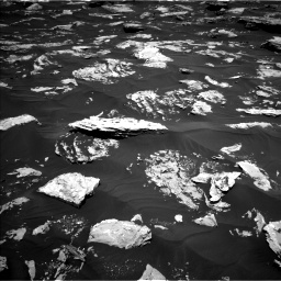 Nasa's Mars rover Curiosity acquired this image using its Left Navigation Camera on Sol 1724, at drive 3266, site number 63