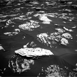 Nasa's Mars rover Curiosity acquired this image using its Left Navigation Camera on Sol 1724, at drive 3278, site number 63