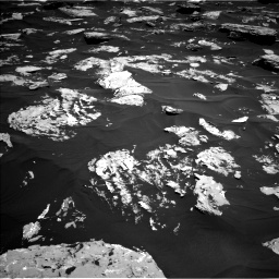 Nasa's Mars rover Curiosity acquired this image using its Left Navigation Camera on Sol 1724, at drive 3290, site number 63