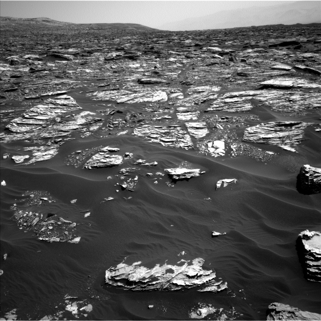 Nasa's Mars rover Curiosity acquired this image using its Left Navigation Camera on Sol 1724, at drive 3326, site number 63