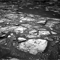 Nasa's Mars rover Curiosity acquired this image using its Right Navigation Camera on Sol 1724, at drive 3098, site number 63