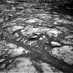 Nasa's Mars rover Curiosity acquired this image using its Right Navigation Camera on Sol 1724, at drive 3104, site number 63
