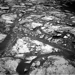 Nasa's Mars rover Curiosity acquired this image using its Right Navigation Camera on Sol 1724, at drive 3110, site number 63