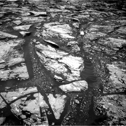 Nasa's Mars rover Curiosity acquired this image using its Right Navigation Camera on Sol 1724, at drive 3122, site number 63