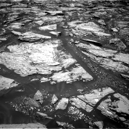 Nasa's Mars rover Curiosity acquired this image using its Right Navigation Camera on Sol 1724, at drive 3134, site number 63