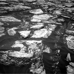 Nasa's Mars rover Curiosity acquired this image using its Right Navigation Camera on Sol 1724, at drive 3158, site number 63
