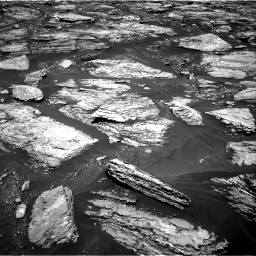 Nasa's Mars rover Curiosity acquired this image using its Right Navigation Camera on Sol 1724, at drive 3170, site number 63
