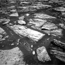 Nasa's Mars rover Curiosity acquired this image using its Right Navigation Camera on Sol 1724, at drive 3176, site number 63