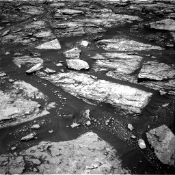 Nasa's Mars rover Curiosity acquired this image using its Right Navigation Camera on Sol 1724, at drive 3182, site number 63