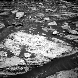 Nasa's Mars rover Curiosity acquired this image using its Right Navigation Camera on Sol 1724, at drive 3194, site number 63