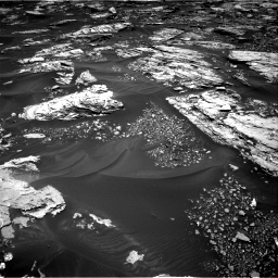 Nasa's Mars rover Curiosity acquired this image using its Right Navigation Camera on Sol 1724, at drive 3224, site number 63