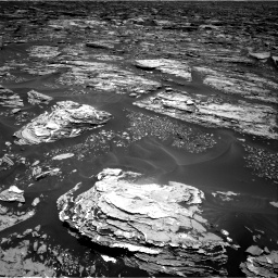 Nasa's Mars rover Curiosity acquired this image using its Right Navigation Camera on Sol 1724, at drive 3242, site number 63