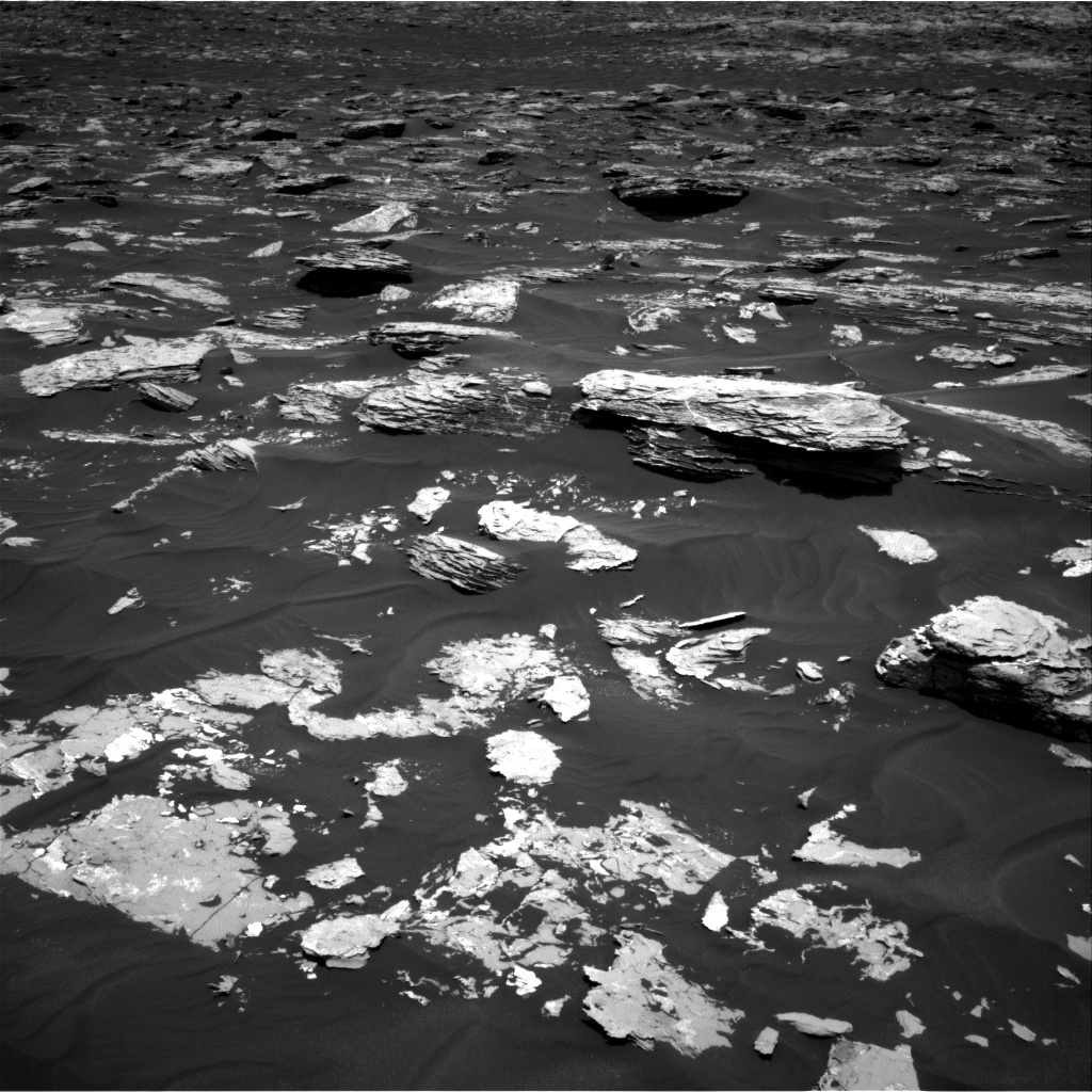 Nasa's Mars rover Curiosity acquired this image using its Right Navigation Camera on Sol 1724, at drive 3326, site number 63