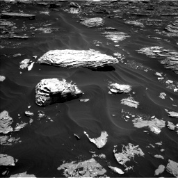 Nasa's Mars rover Curiosity acquired this image using its Left Navigation Camera on Sol 1726, at drive 3350, site number 63