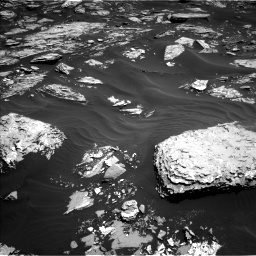 Nasa's Mars rover Curiosity acquired this image using its Left Navigation Camera on Sol 1726, at drive 3416, site number 63