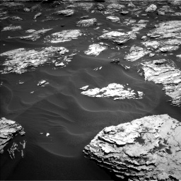 Nasa's Mars rover Curiosity acquired this image using its Left Navigation Camera on Sol 1726, at drive 3446, site number 63