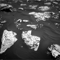 Nasa's Mars rover Curiosity acquired this image using its Left Navigation Camera on Sol 1726, at drive 3470, site number 63