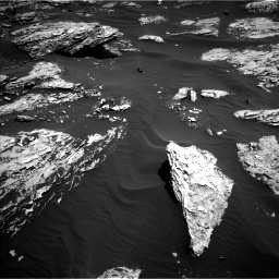 Nasa's Mars rover Curiosity acquired this image using its Left Navigation Camera on Sol 1726, at drive 3482, site number 63