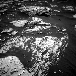 Nasa's Mars rover Curiosity acquired this image using its Left Navigation Camera on Sol 1726, at drive 3494, site number 63