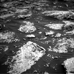 Nasa's Mars rover Curiosity acquired this image using its Left Navigation Camera on Sol 1726, at drive 3506, site number 63