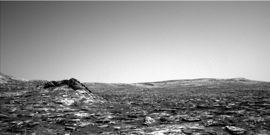 Nasa's Mars rover Curiosity acquired this image using its Left Navigation Camera on Sol 1726, at drive 0, site number 64