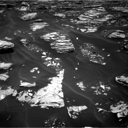 Nasa's Mars rover Curiosity acquired this image using its Right Navigation Camera on Sol 1726, at drive 3332, site number 63