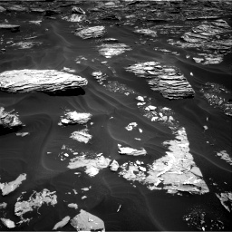 Nasa's Mars rover Curiosity acquired this image using its Right Navigation Camera on Sol 1726, at drive 3344, site number 63